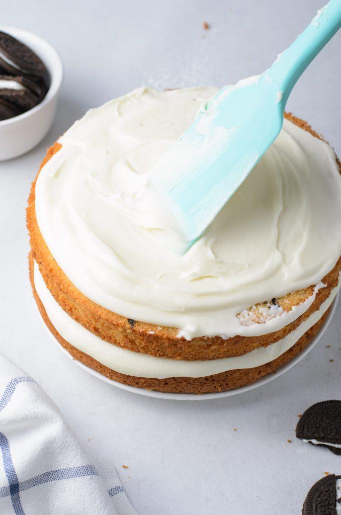 Oreo Layered Cake